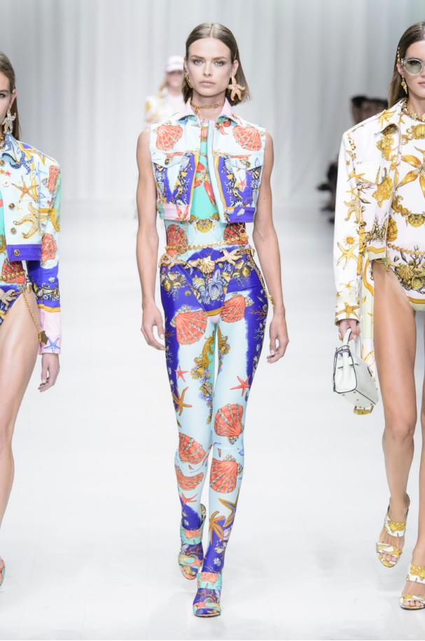 Versace runway